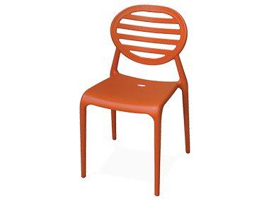 Stuhl Seventies orange Artikelnummer: 62009 Preis: 5,00 €/ME*