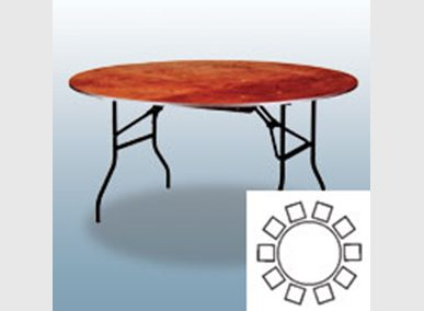 Bankett-Tisch 183cm Artikelnummer: 61000 Preis: 14,00 €/ME*