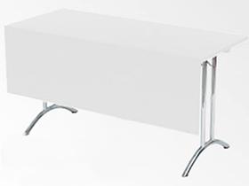 Konferenztisch SEMINAR 140x60cm mit Frontplatte Artikelnummer: 61145 Preis: 19,00 €/ME*