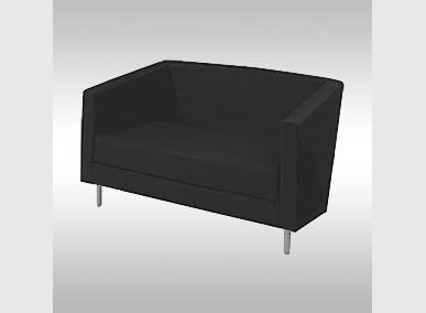 Couch GO schwarz Artikelnummer: 62512 Preis: 59,00 €/ME*