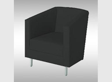 Sessel GO schwarz Artikelnummer: 62523 Preis: 39,00 €/ME*