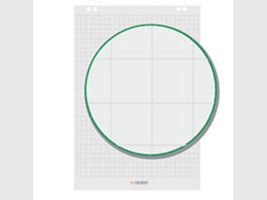 Flipchart-Block Kariert Artikelnummer: 65111 Preis: 7,50 €/Verkaufspreis