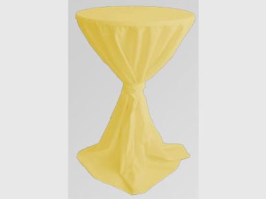 Stehtischhusse: gelb Artikelnummer: 69048 Preis: 13,00 €/ME*