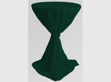 Stehtischhusse: grün