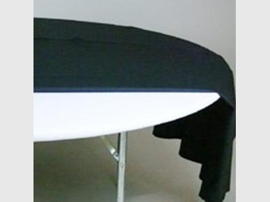 Moltonauflage Bankettisch Ø 160cm