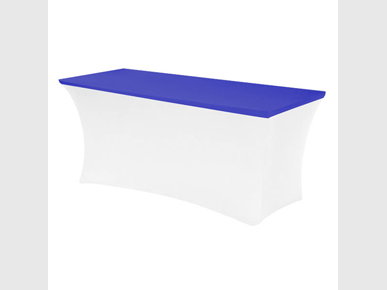 Bankett-StretchTOP blau