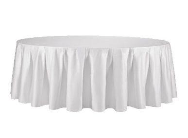 Tischdecke weiß Ø 280cm Artikelnummer: 69000 Preis: 12,50 €/ME*