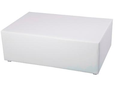 Bank White Lounge Exklusiv mit Edelstahlfüßen Artikelnummer: 80044 Preis: 45,00 €/ME*