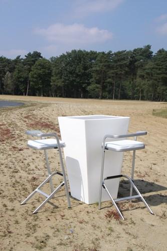 Barhocker White Lounge (2)