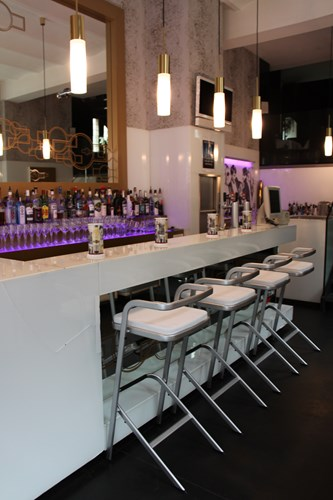 Barhocker White Lounge