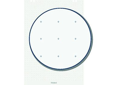 Flipchart-Block Fadenkreuz Artikelnummer: 65112 Preis: 7,50 €/Verkaufspreis