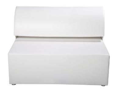 Sofa White Lounge Exklusiv mit Edelstahlfüßen Artikelnummer: 80045 Preis: 85,00 €/ME*